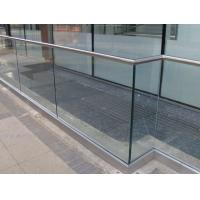 Buy cheap Concrete Balusters For Sale, Outdoor Aluminum Glass Balstrade product