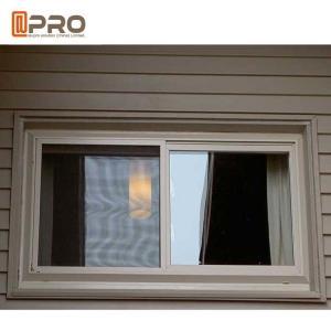 Buy cheap Sound Proof Aluminum Alloy Sliding Windows Black Or Grey Color aluminum sliding kitchen window office interior sliding product
