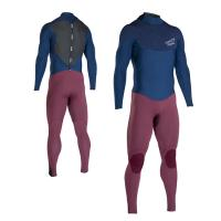 Buy cheap EN14225-1 3mm Neoprene Wetsuit Back Zip Long Sleeve For Diving / One Piece Wetsuit product