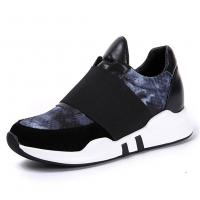 Quality Slip-on Sneakers Taller 2.36 inches Women Shoes Elevator Sports Running Shoes for sale