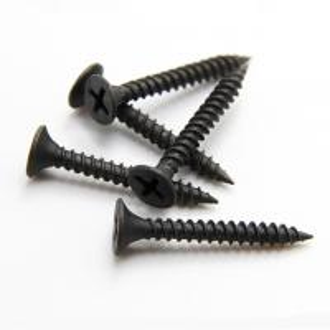 Buy cheap DIN18182 Black Grey Self Drilling Screws / Phosphated Bugle Head Coarse Thread Drywall Screw product