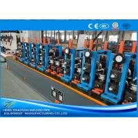 Buy cheap Friction Saw Cutting SS Tube Mill Machine Worm Gearing Customized Heavy Duty product