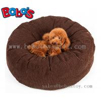 Buy cheap High Quanlity Plush Thick Pet Bed Dog Sofa Cat Mat In Dark Brown Color product