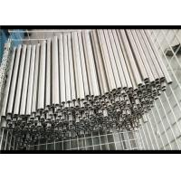 Shot Blasting Precision Seamless Steel Tubes , Plain End Round Steel Tubing