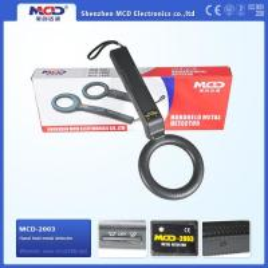Buy cheap MCD-2003 Security Wand Metal Detectors , Portable Metal Wand Detector 9 V Battery from wholesalers