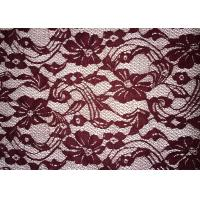Buy cheap Beauty Chemical Lace Fabric / Cupion Lace Fabric With Polyester / Cotton Material product