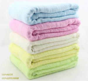 Buy cheap Natural Bamboo Fiber 28*55'' Bath Towel Soft  Pure Color Natural Organic Bamboo Fiber Towe product