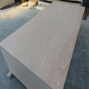 Buy cheap 4mm Okoume Wood Veneer Commercial Grade Plywood E1 Glue Full Poplar Core product