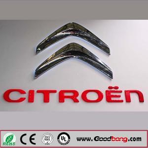 Buy cheap 3D Car Logo With Names,Custom 3D Car Emblem,ABS Acrylic Chrome Car LOGO DIY product