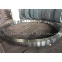 Buy cheap Max OD 5000mm A350 LF3 LF6 Carbon Steel Forged Rings  Rough Machined Q+T Heat Treatment product