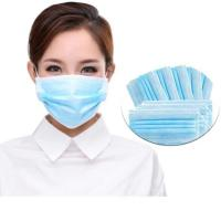 Buy cheap Breathable 3 Ply Disposable Mask High Filtration Capacity With Elastic Earloop from wholesalers