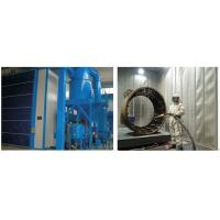 Buy cheap High Efficiency Grit Blasting Room , Industrial Sandblast Cabinet Electric Control product