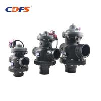 Buy cheap 3 Inch Three Way Filter Backwash Valve For Automatic Filter Metal Material product