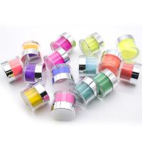 Buy cheap 1OZ New Glaze Color Nail Art shiny color powder Private Label Dipping Powder Set for Beautiful girl product