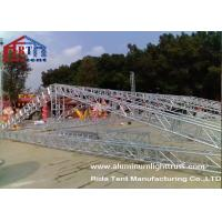 Buy cheap 15m Span Aluminium Roof TrussesHand Hoist Strong Loading Capacity For Event product