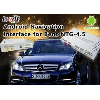 Buy cheap Mercedes-Benz E Class NTG 4.5 GPS Navigation Android Auto Interface Box Support WiFi Bt Mirrorlink product