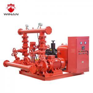 Buy cheap Split Case  Diesel Fire Pump Package Fire Fighting Water Pump NFPA Standard product