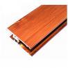 Buy cheap Profils en aluminium de finition du bois carrée, systèmes de encadrement d'aluminium différent de couleurs from wholesalers