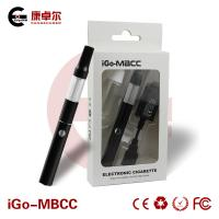 Buy cheap 3.7V 650mAh White Mini BCC Clear Cartomizer No Shot Cut from wholesalers