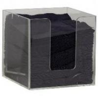 Tabletop Acrylic Napkin Holder With Customer's Design And Logo