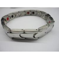 Buy cheap magnetic stainless steel bracelet from wholesalers