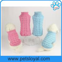 Factory Pet Supply Warm Fashion Cheap Soft Pet Coat Dog Clothes