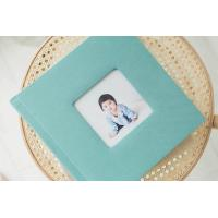 Buy cheap Contemporary 6 x 6 Family / Pet / Kids Fabric Covered Photo Album Book product