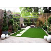 China 12000 Dtex Strong Pile Artificial Grass Garden For Home And Public Place on sale