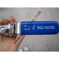 China Stainless Steel 2PC Ball Valve, Full Bore, Threaded End, 1000WOG, PN63 wholesale