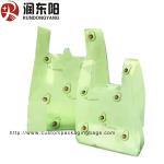 Buy cheap Supermarket LDPE Vest Bag Die Cut Handle Plastic Bags Heat Seal For T Shirt product