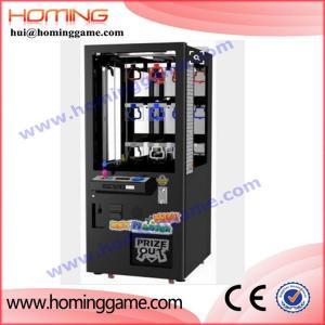 China Key master prize game machine,prize vending machine,key master cheap arcade game machine on sale