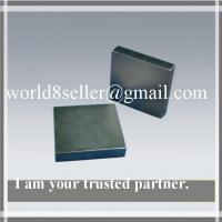 Buy cheap Customized permanent rare earth block ndfeb magent China manufacture 15x15x2mm for sales product