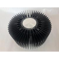 Buy cheap Custom aluminum CNC machined 230mm big size LED round heat sink extrusions product