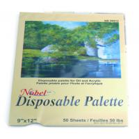 Buy cheap Square Disposable Palette Acrylic Artist Paint Pad 12 X 16'' / 9 X 12' Size product