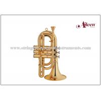 Quality Lacquered Brass Spainish style China Brass Cornet ( CN8713G) Brass Music for sale