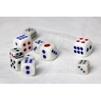 Buy cheap Plastic Omnipotent Dice Cheating Device with Mercury , Casino Craps Dice product