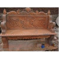Buy cheap Park Bench Stone sculpture product