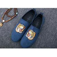 Buy cheap Men Loafer Slip On Shoes Flat Casual Shoes Tiger Metal At Vamp Velvet EUR 38 - 45 product