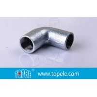 Buy cheap Internal Thread Bends Steel 20mm 25mm 32mm BS4568 Conduit Elbow from wholesalers