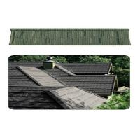 China Decorative Grid Lightweight Metal Roof Tiles / Roman villa roofing tiles on sale