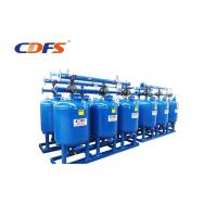 Buy cheap DP / Time Sand Media Filter 10 - 200 Sec Backwash Time For Industrial Process Water product