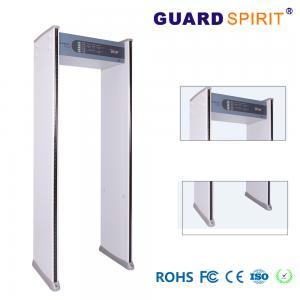 Buy cheap Alarm Recording Security Guard Metal Detector Walk Through 2 Columns Led 4090 Sensitive product