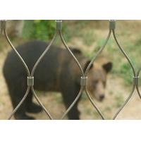 Buy cheap High Tensile Zoological Animal Enclosure Fencing For Animal Security product