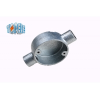 Buy cheap Malleable Cast Iron 2 way  BS4568 conduit  Circular Junction Box product