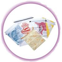 Buy cheap Personalized CPE / LDPE Drawstring Plastic Bags For Girls Underwear / Bra / Bikini / Vest product