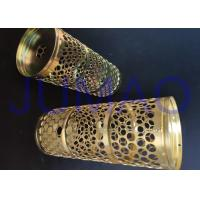 China Mild Steel Wire Mesh Filters Corrosion Resistance Tubes For Automotive Industry on sale