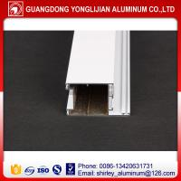 China Aluminum doors frame and window frame pwoder coated white color to africa on sale