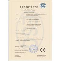 Shijiazhuang Ningbo Canvas And Tarpaulin Textile Co., Ltd Certifications