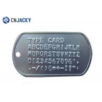 Buy cheap Embossed Custom Made Personalized Dog Tags For Pets , Small Dog Tags For Pets product