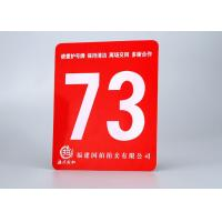 "Buy cheap ABS Rotary Engravable Plastic Sign Board Tamper Proof With Size 24""X 48"" product"